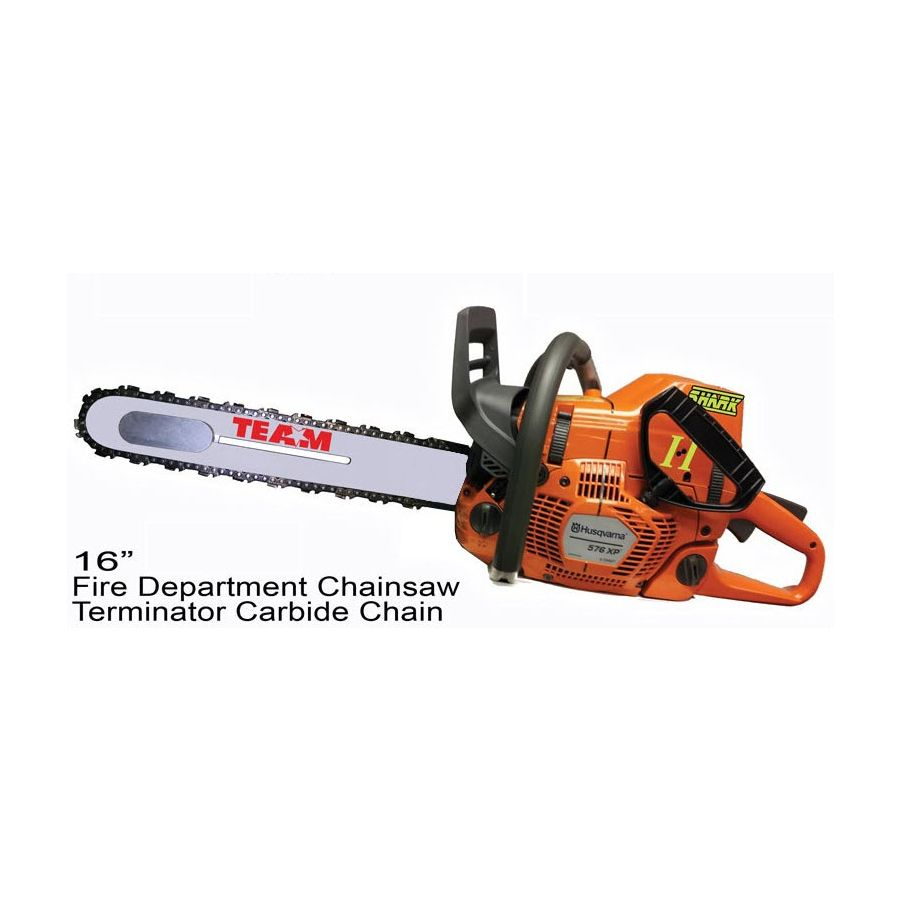 Sticker Chainsaw Chain Brake Decal Left Side of Saw
